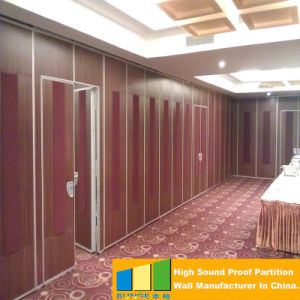 Movable Sound Proof Partition Wall System for Restaurant