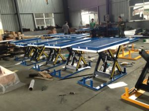 Hydraulic Scissor Lift Table with Ce Certificate (HU) pictures & photos