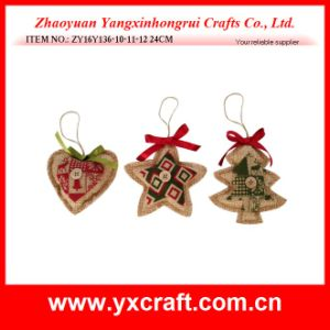 Christmas Decoration (ZY16Y136-2-3 24CM) Christmas Star Xmas Tree Decoration pictures & photos