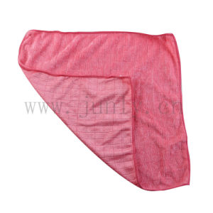 Pink Plaid Microfiber Cleaning Cloth
