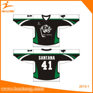 Healong Sportswear Sublimated Printing Team Set Hockey Jersey Shirts pictures & photos