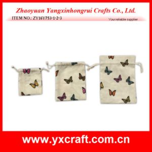 Easter Decoration (ZY16Y753-1-2-3) Easter Butterfly Bag Jewelry Bag pictures & photos