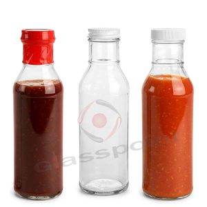 150ml 5oz Sauce Spice Vinegar Glass Jar, BBQ Glass Bottle pictures & photos