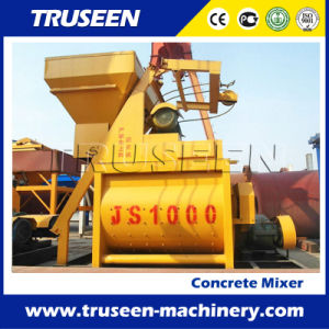 High Quality Twin Shaft (JS1000) Compulsory Concrete Mixer in Ghana pictures & photos