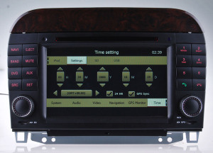 Hualingan Car Player for Benz S-W220 DVD GPS Navigation with Tmc DVD-T pictures & photos
