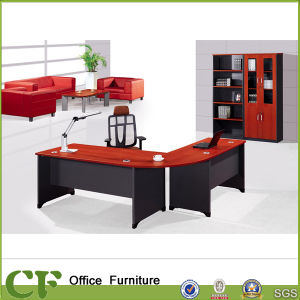 Match Color Normal Wood Office Manager Writing Desk pictures & photos