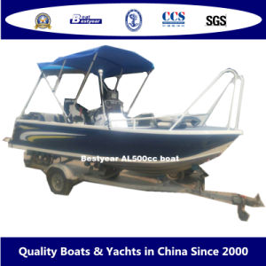 2015 Aluminum Sport Fishing Boat Al500 Centre Console Boat pictures & photos