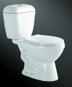 Siphonic S Trap & P Trap Two Pieces Wc Toilet pictures & photos
