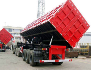 Low Bed Dump Truck Sell at a Resonable Price pictures & photos