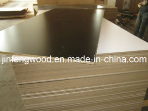 Melamine MDF Board/Particl Board with Black Color pictures & photos