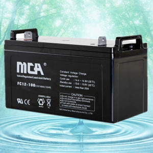 12V100ah Advanced Sealed Lead Acid Battery AGM pictures & photos