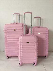ABS Zipper Hard Shell Trolley Case Luggage Big Size 30′′ pictures & photos