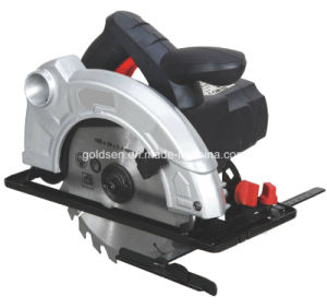 185mm 1400W Aluminum/Wood Cutting Power Plus Circular Saw (GW8243A)