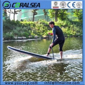 """New Design Inflatable Surf Board Stand up Paddle Surf with High Quality (Magic (BW) 10′6"""") pictures & photos"""