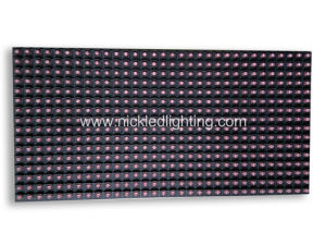 Semi-Outdoor Single Color Advertising LED Display Module pictures & photos