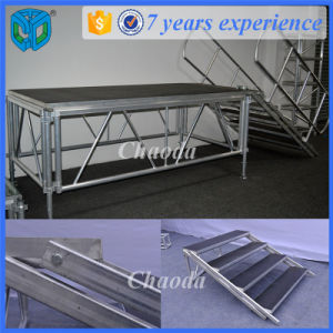 Mobile Used Aluminum Frame Wooden Stage for Sale