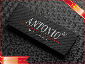 High Quality Satin Woven Label Fabric Label for Garment pictures & photos