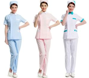 Fashionable Medical Scrubs Nurse Hospital Uniforms for Hospital pictures & photos