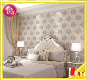 Home Interior Black and White Wallpaper PVC Vinyl Wallpaper Italian Vinyl Wallpaper pictures & photos