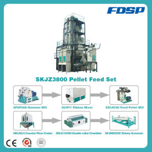 CE Approved Chicken Feed Production Line pictures & photos