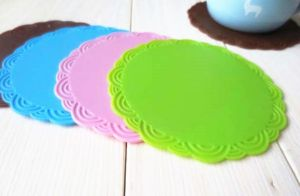 2016 Eo-Friendly Durable Fancy Silicone Cup Mat pictures & photos