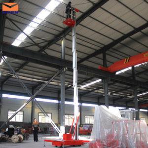 Single Mast Mobile Vertical Aluminum Alloy Lift pictures & photos