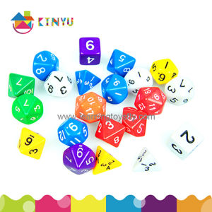 Educational Toy and Learning Toy Plastic Math Dice pictures & photos