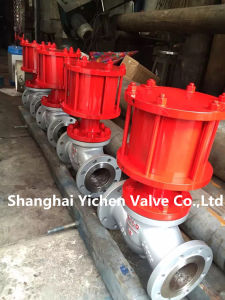 Pneumatic Flange Type China Globe Valve (J641) pictures & photos