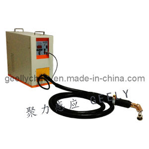 Mobile Induction Brazing Machine with 3 to 10meter Long Soft Coil pictures & photos