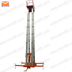 8m Aluminum Man Lift for Aerial Work pictures & photos