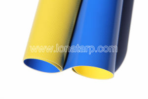 2 Colors PVC Coated Tarpaulin