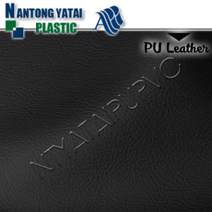 Waterproof Cheap Embossed PU Artificial Leather Manufacturers for Bed pictures & photos