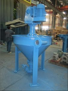 Sanlian Vertical Centrifugal Froth Pump for Delivering Foam Slurry in Flotation Process pictures & photos