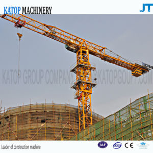 China Katop Brand 6t Rated Load PT5610 Topless Tower Crane for Construction Machinery pictures & photos