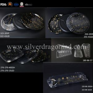 Plastic PS Disposable Sushi Box, Food Grade pictures & photos
