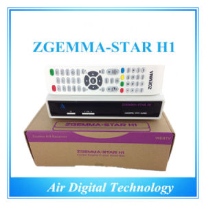Satellite Receiver No Dish Zgemma Star H1 Combo Decoder pictures & photos