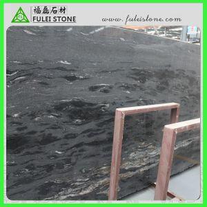Popular Natural Polished Cosmic Black Granite
