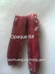 Opaque Ruby Material, Rough Opaque Ruby, Imitation Natural Ruby Material pictures & photos