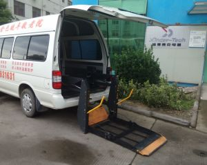 Electric Wheelchair Lifting Platform for Van CE Certificate pictures & photos