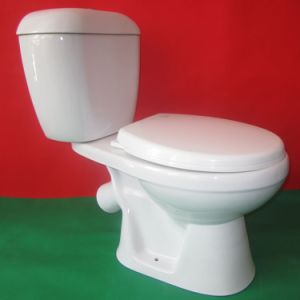 P-Trap 45 Degree Toilet for Russia