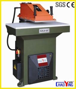 Hydraulic Swing Arm Leather Atom Cutting Machine pictures & photos