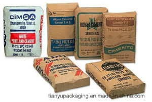 Tile Adhesive Packing Kraft Paper Valve Bag pictures & photos