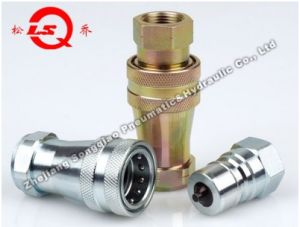 Lsq-S6 Close Type Hydraulic Quick Coupling (STEEL) pictures & photos