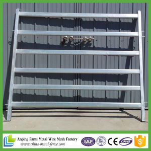 6 Bar Oval Rail Portable Cattle Yard Panels pictures & photos