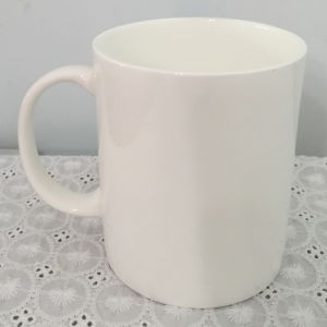 Super White Porcelain Mug with Handle - 14CD24361 pictures & photos