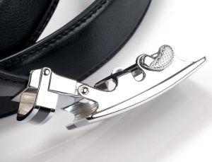 Men Black Leather Belts (A5-130703) pictures & photos