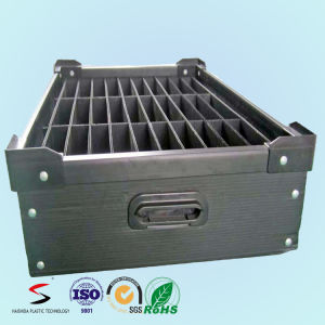 PP Turnover Plastic Box Color Corrugated Boxes with Separation pictures & photos