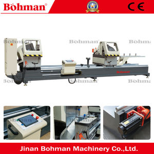 Window Saw Aluminum Digital Display Double Mitre Saw pictures & photos