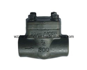 Forged Steel Check Valve (SW, NPT) pictures & photos