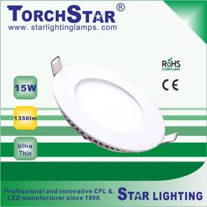 Ultra Bright SMD 15W Round LED Panel Light